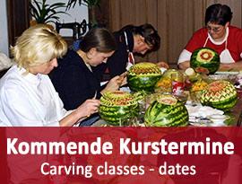 Gemüseschnitzkurse