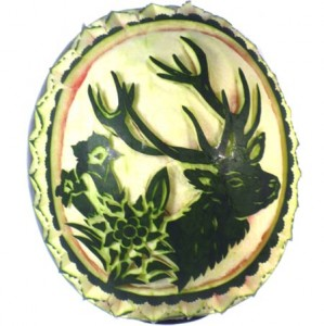 Wassermelone - Jagdmotiv