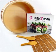 Sushi Assecoires set with book