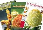Fachbücher Obst-, Gemüse- und Eisschnitzen