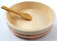 Sushi Reisschüssel - Hangiri 30 cm