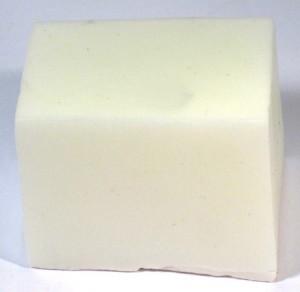 Gießseife, Schnitzseife, rein pflanzlich, 11,5 KG Block weiß, ohne Duftstoff
