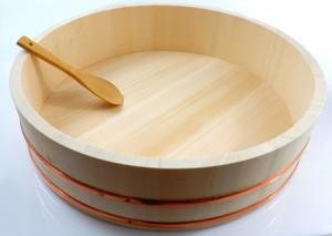 Sushi Reisschüssel - Hangiri 48 cm