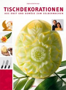 Lehrbuch für Gemüseschnitzen, Tischdekorationen aus Obst & Gemüse