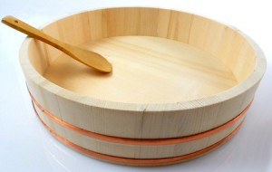 Sushi Reisschüssel - Hangiri 39 cm