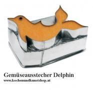 Gemüseausstecher, Delphinausstecher - IN AKTION