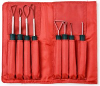 vegetable carving loop tools,  set of 8 pc.