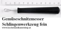 Triangle Schnitzmesser, Schlingenwerkzeug kleine runde Schlinge