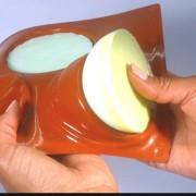 Happyflex soapmold round semisphere 8 cm