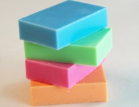 Carving soap - assorted colours 10 pc.
